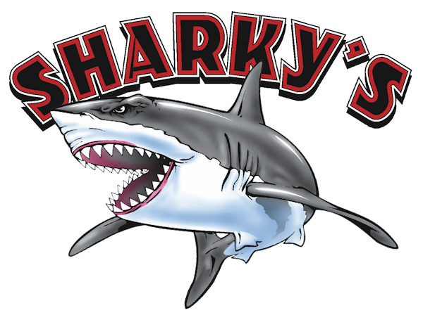 Sharkys Charter Booking Logo