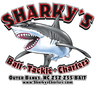 Sharky's Bait, Tackle and Charters Logo